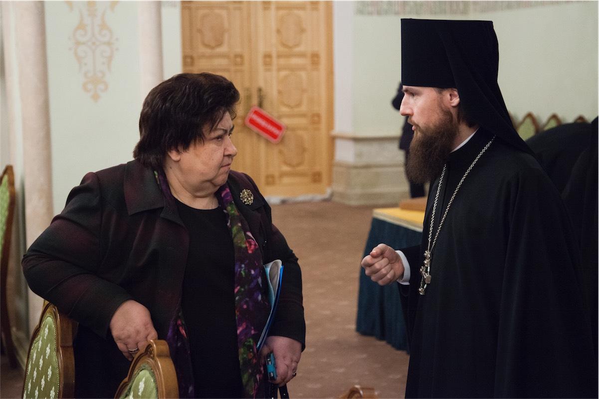 Валентина Сигаева, игумен Петр (Еремеев)