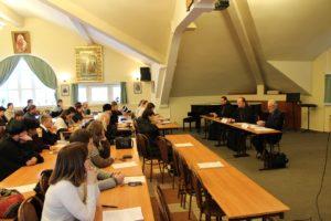 Заседание секции «Секты как орудие для разрушения традиций»